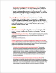 4 define the term job analysis job analysis is a systematic this is the end of the preview sign up to access the rest of the document