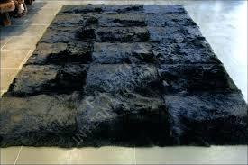 black fur rug black fur rug ingenious inspiration ideas black fur rug wonderful decoration fur carpet