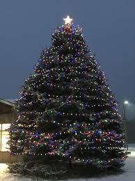 Milton Lighting Main Street Milton Lights Its Tree News Miltonindependent Com