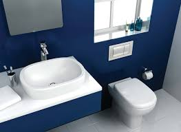 blue bathroom tile ideas: blue bathroom living home decor modern blue bathroom
