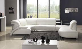round leather sectional sofa design ideas