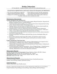It Asset Management Resume Sample Resume For Property Manager It
