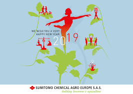 Sumitomo Chemical Agro Europe - We wish you a very Happy New Year 2019