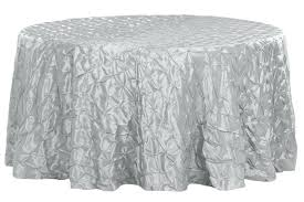 pinched wheel taffeta round table linens chocolate brown tablecloth light plastic tablecloths