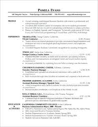 College Student Resume Examples Little Experience Stunning Resume Examples With Little Experience College Student Resume Resume