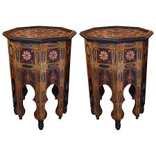 cheap moroccan furniture. Viyet - Designer Furniture Tables Vintage Moroccan Octagonal Side Cheap E