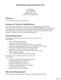 Web Designer Resume Free Download Web Developer Resume Examples And Tips Template 100a Templates 21