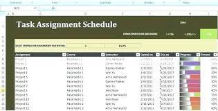 Task Assignment Sheet Template Task Assignment Sheet Template