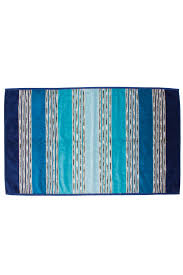 missoni home  towels  throws  norman bath towel  blue
