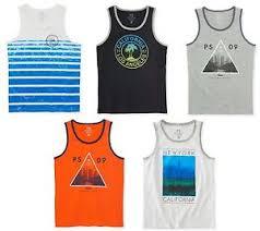 Details About P S Kids Aero Aeropostale Boys Sleeveless Tank Top Muscle Shirt 5 6 7 8 10 12 14