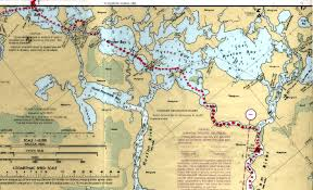 Trip Route Chokoloskee To New Turkey Key Paddling In The