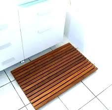 wooden shower mat wood ikea diy ireland