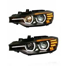 Bmw 1 Series Daytime Running Light Bulb Amazon Com 2pcs Headlight Assemblies For Bmw 3 Series F30