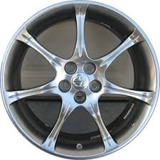 Scion Tc Bolt Pattern Interesting ALY48U48 Toyota Scion TC XD Hyper Silver Wheel 48BODJIF