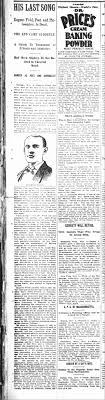 Eugene Fields Obituary - 1895 Nov - Newspapers.com