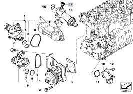 original parts for e46 330d m57 touring engine waterpump original parts for e46 330d m57 touring engine waterpump thermostat estore central com