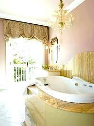 chandelier over tub code bathtub medium size of gold nursery for med