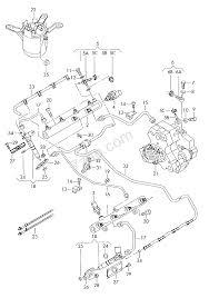 Fuel rail injector unit pressure pipes audi q7 aq7 usa 2007 year