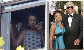 Morgan Freeman's second wife visits step-granddaughter's home where she was  killed   Daily Mail Online