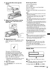 i phone 5 usb plug sony dsx ms60 support operating instructions page 17