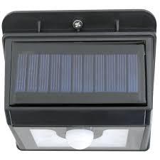 waterproof wall mounted outdoor solar motion sensor led light