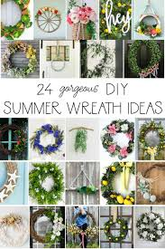 24 gorgeous diy summer wreath ideas seasonal simplicity summer wreath hop 2