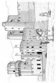 55 best Castles Dragons Knights Coloring Pages images on Pinterest ...
