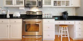 modern black laminate countertops
