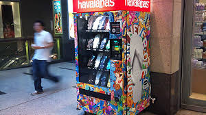 Havaianas Vending Machine Locations Adorable A Flip Flop Vending Machine A Drunk Girl's Best Friend Imgur