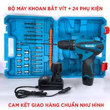 Giảm ₫18,315] Máy khoan pin Makita 12V 3 chức năng - Máy bắt vít , máy  khoan tường , khoan gỗ , kim loại - Bảo hành 6 tháng - tháng 9/2021 -  BeeCost