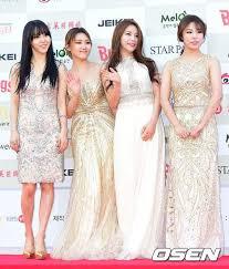Red Carpet Of 4th Gaon Chart Awards In 2019 Mamamoo
