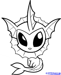 Pokemon Chibi Colouring Pages Cute Chibi