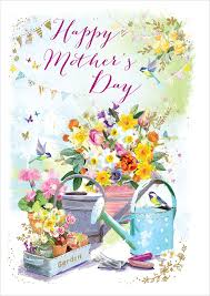 mother day card design ling design ltd watering can mothers day card lnq0135