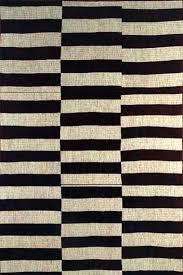 black and white triptych kilim rug nate berkus