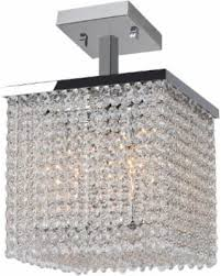glam lighting. brilliance lighting and chandeliers glam art deco style 4light crystal 10inch square l
