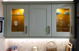 do your kitchen units have glazed doors