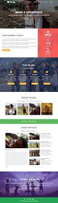Ngo Templates Landing Page Homepage Elementor Layout Template For Charity Non 22