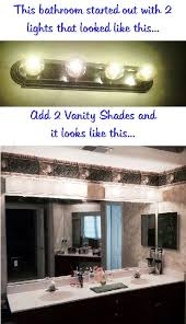 cute bathroom vanity light covers shades on intended for custom lamp in diy cover ideas 11