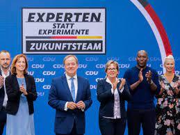 Landrat andreas ebel (cdu) trifft auf tilman kuban, dem bundesvorsitzenden der jungen union, zum talk in isenbüttel. Jbm7uooa2wvmcm