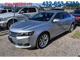 Used 2015 Chevrolet Impala LTZ w/1LZ Sedan Silver for Sale in ...
