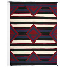 Priscilla Warren (Navajo, b. 1972) Third Phase Revival Chiefs Blanket / Rug    Cowan's Auction House: The Midwest's Most Trusted Auction House /  Antiques / Fine Art / Art Appraisals