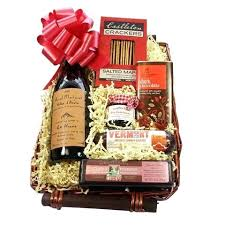 wine cheese basket and baskets delivery