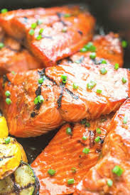 Grilled Maple Salmon Recipe VIDEO in ...