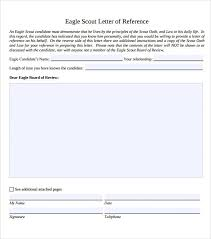 examples of eagle scout letter of recommendation sample eagle scout letter of recommendation 9 download