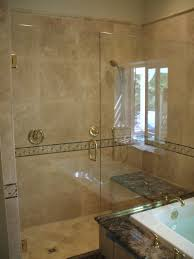 two panel shower glass doornewport beach ca