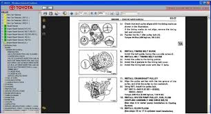 TOYOTA HILUX 1997 - 2005 SERVICE & REPAIR INFORMATION MANUAL