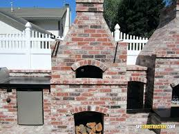 outdoor fireplace and pizza oven pizza oven outdoor fireplace pizza oven kits