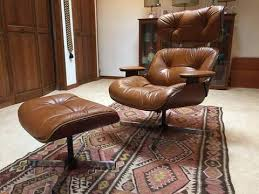 Mid century modern chair styles Wood Eames Style Lounge Herman Miller Reproduction Mid Century Modern Chair And Ottoman Cushion Source Mid Century Eames Style Lounge Chair And Ottoman Epoch
