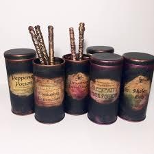 harry potter harry potter decor harry potter wand holder harry potter desk organizer vintage tins harry potter party harry potter home