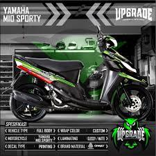 Mio I 125 Magenta Sticker Design Motorcycle Sticker Design Mio Motorcycle You